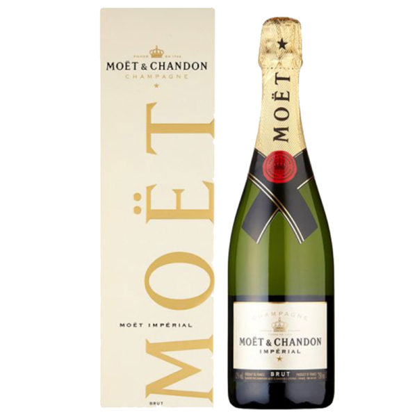 Moet & Chandon Brut Imperial Non Vintage Champagne 75Cl Delivery London