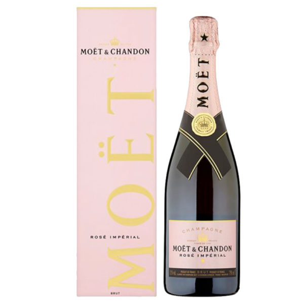 Moet & Chandon Imperial Rose Non Vintage Champagne 75Cl Delivery London