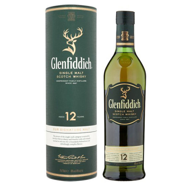 Glenfiddich 12Yo Malt Whisky Delivery London