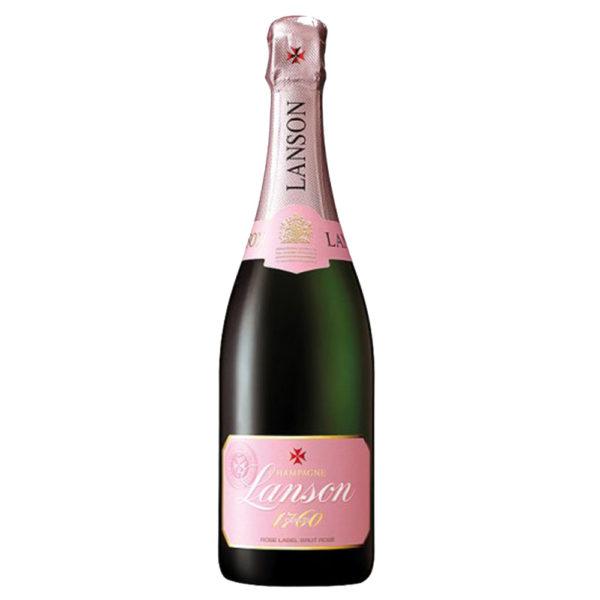 Lanson Rose Champagne Non Vintage 75Cl Delivery London