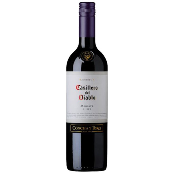 Casillero Del Diablo Merlot 75Cl Alcohol home delivery