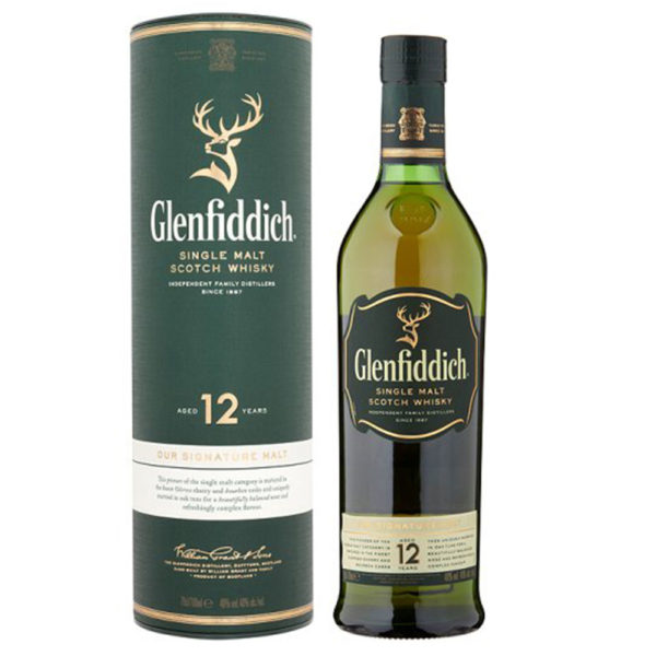 Glenfiddich 12 Year Old Scotch Whisky Delivery London